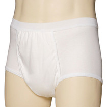 "Carefor Ultra One Piece Men's Brief With Halo Shield, Small, 30"" - 33"" Waist"