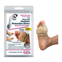 Visco-gel Forefoot Protection Sleeve, Large/x-large