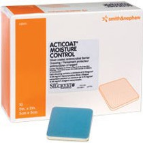"Acticoat Moisture Control, 4"" X 4"" - Diabetic Supply Store"