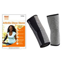 """Imak® Compression Arthritis Elbow Sleeve, Small, 8"""" to 11"""" Arm Circumference"""