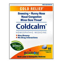 Boiron® Coldcalm® Cold Relief Tablet, 60 Count