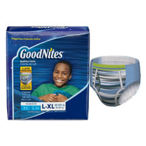 Goodnites Youth Pants For Boys Large/x-large, Giga Pack, 34 Count