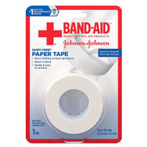"Band-aid First Aid Hurt-free Paper Tape, 1"" X 10 Yards, 2 Ct."