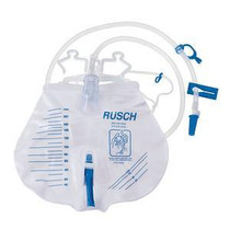 Bedside Urinary Drain Bag With Anti-reflux Valve 2,000 Ml - Diabetic Supply Store