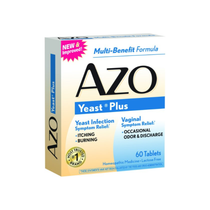 AZO Yeast Plus Tablets, 60 ct.