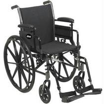"Cruiser Iii Wheelchair 18"" Seat, Black"