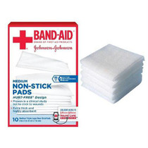 "J & J Band-aid First Aid Non-stick Pads 2"" X 3"""
