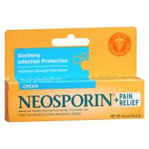 Neosporin Antibiotic Ointment Plus Pain Relief, Maximum Strength, 1.0 Oz.