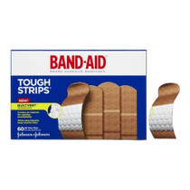 Band-aid Tough Strips Aos 60 Ct. - Diabetic Supply Store