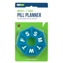 Apothecary Products Ezy Dose Pill Reminder, 7-Day, 7-Sided