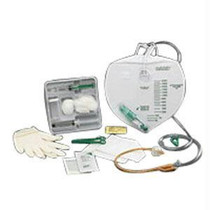 Kendall KenGuard™ Anti-Reflux Chamber Foley Tray with Drain Bag, without Catheter