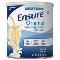 Ensure Vanilla Powder, Institutional 14 Oz. Can