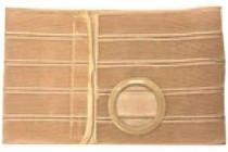 "Nu-Hope Nu-Form™ Support Belt, Medium Oval,  Ring, 9"" Wide, Left,  Ring 1-1/2"" From Bottom, Contoured, XL  (41"" to 47"" Waist), Beige"