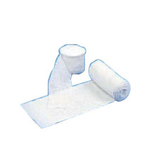 """Medical Action Industries 10 ply Dry Burn Dressing 4"""" x 12"""" Unsewn, Fine Mesh, White, Sterile"""