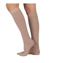 Juzo Dynamic Knee-high With 5 Cm Silicone Band, 30-40, Full Foot, Beige, Size 4