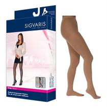 782p Style Sheer Pantyhose, 20-30mmhg, Women's, Medium, Long, Suntan