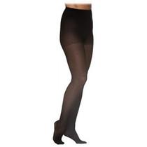 782p Style Sheer Pantyhose, 20-30mmhg, Women's, Medium, Short, Black
