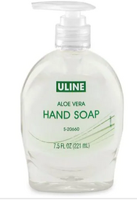 Uline Aloe Hand Soap - 7.5 oz Dispenser EACH