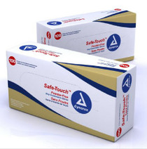 Safe-Touch™ X-Large Non Sterile Vinyl Gloves Box of 100