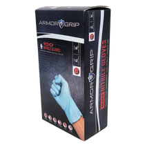 ArmorGrip Blue Nitrile Gloves - Small