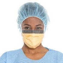 FLUIDSHIELD* Level 3 Fog-Free Surgical Mask, WrapAround Visor( Box of 25)