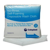 Coloplast Bedside-Care® EasiCleanse™ Bath Wash Cloth Pack of 5