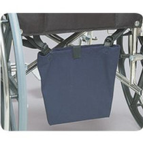 "Posey Company Urine Drainage Bag Holder/Cover 13-1/2"" L x 10-1/2"" W, Washable, Canvas Holder, with Straps"