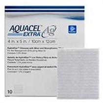 """ConvaTec AQUACEL® Extra Hydrofiber Wound Dressing 4"""" X 5"""""""