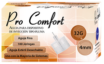 ProComfort Insulin Pen Needle 32g 4mm