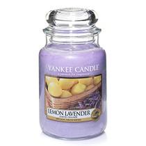 Yankee Candle Lemon Lavender Large 22oz Glass