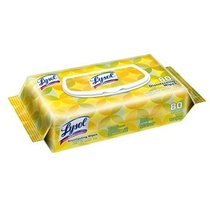 Lysol 80ct Lemon Lime Disinfectant Wipes Soft Pack