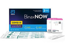 BinaxNOW COVID‐19 Antigen Self Test (2 Tests)