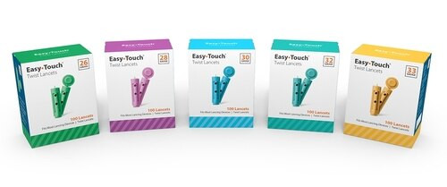 Easy Touch 30 Gauge Lancets