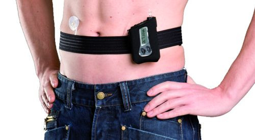 Accu-Chek Belly Belt (Black:)