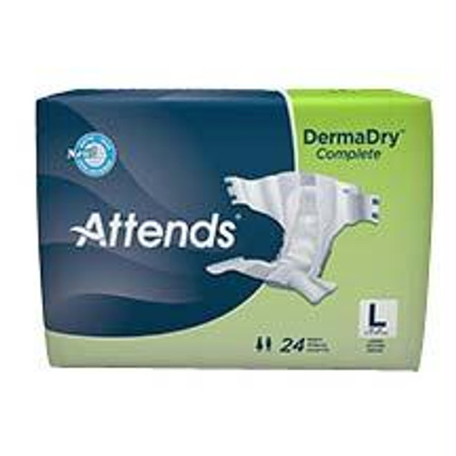 """Attends Dermadry Complete Briefs Large 44"""" - 58"""""""