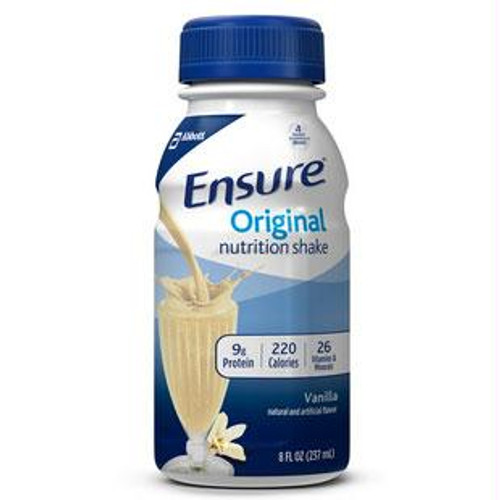 Ensure Homemade Vanilla Shake Retail 8oz. Bottle