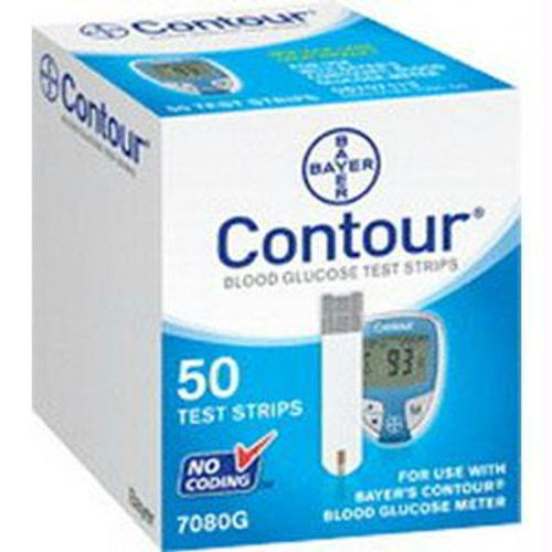 Contour Microfill Blood Glucose Test Strip (50 Count)