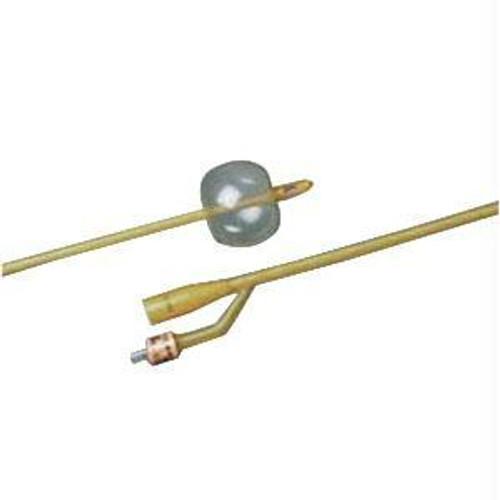 Bardia 2-way Silicone-elastomer Coated Latex Foley Catheter 16 Fr 5 Cc