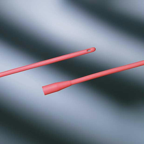 """Bard Red Rubber All-purpose Urethral Catheter 12 Fr 16"""""""