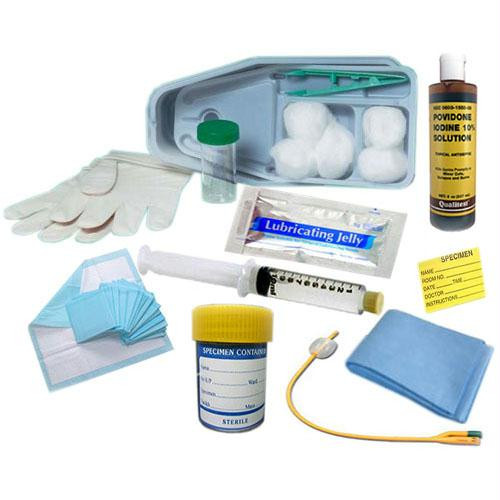 Bardex I.c. Bi-level Universal Foley Catheter Tray 16 Fr