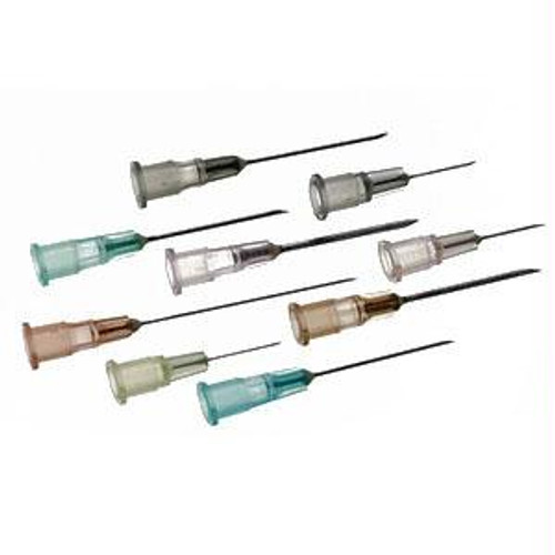"""Regular Bevel Needle 25g X 1"""" (100 Count)"""