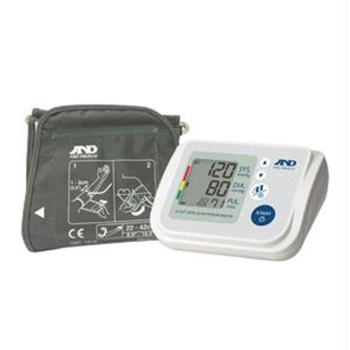Multi-user Upper Arm Automatic Blood Pressure Monitor With Accufit Plus Wide Range Cuff - UA-767F