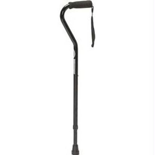Offset Push Button Cane, 250 Lb Weight Capacity
