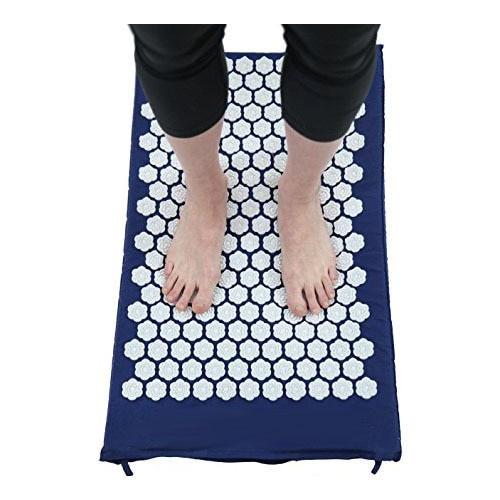 Kanjo Acupressure Memory Foam Foot Mat, Sapphire