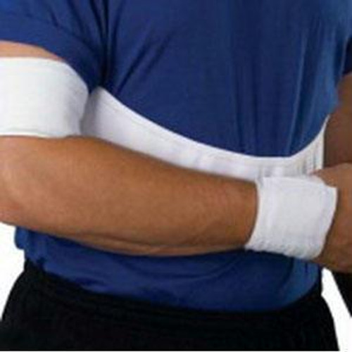 "Xl (42""-48"") White, Male Elastic Shoulder Immobil."