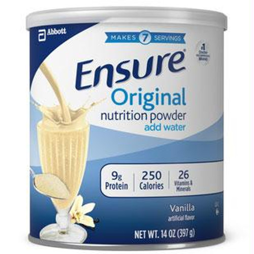 Ensure Vanilla Powder, Institutional 14 Oz. Can