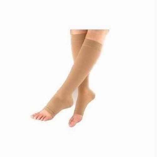 863c Essential Opaque Calf, 30-40mmhg, Open Toe, Medium, Short, Crispa