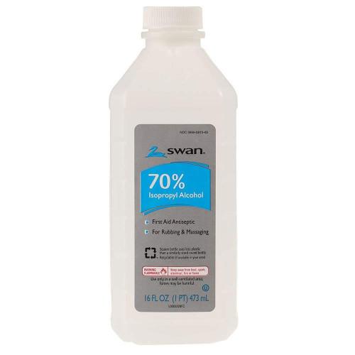 Swan 70% Isopropyl Alcohol 16oz