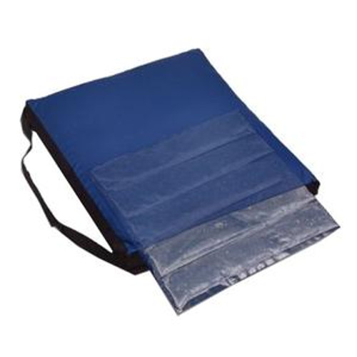 Meridian Optimum Comfort Gel Wheelchair Cushion, 18'' x 16''