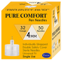 Homeaide Pure Comfort Pen Needles 32G 4mm 50ct